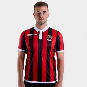 Macron OGC Nice 18/19 Home S/S Football Shirt