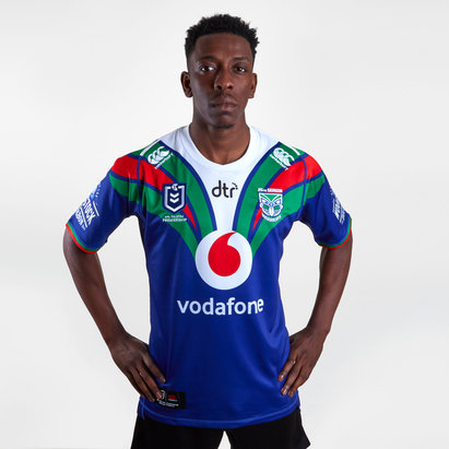 Canterbury New Zealand Warriors NRL 2019 Home Shirt