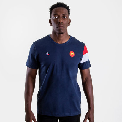 Le Coq Sportif France 2018/19 Supporters Rugby T-Shirt