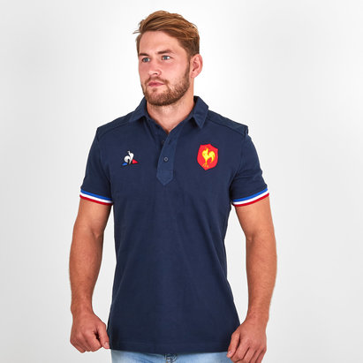 Le Coq Sportif France 2018/19 Presentation Rugby Polo Shirt