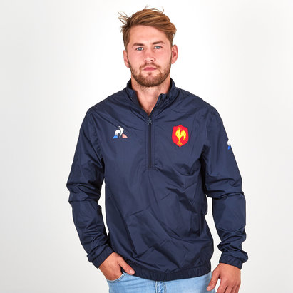 Le Coq Sportif France 2018/19 Windbreaker Rugby Training Jacket