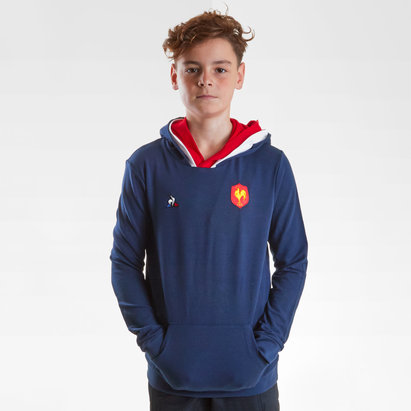 Le Coq Sportif France 2018/19 Kids Hooded Rugby Sweat