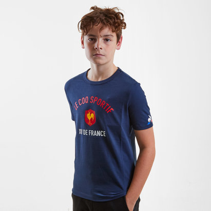 Le Coq Sportif France 2018/19 Kids Rugby T-Shirt