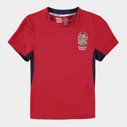 England RFU Kids Poly T-Shirt