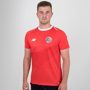 New Balance Costa Rica 2018 Home S/S Football Shirt