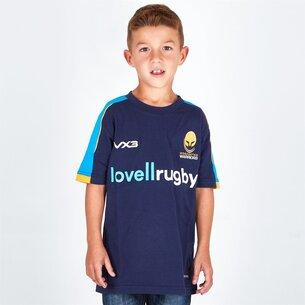 VX3 Worcester Warriors 18/19 Kids Cotton T-Shirt
