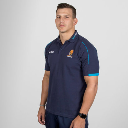 VX-3 Worcester Warriors 2018/19 Pro Rugby Polo Shirt