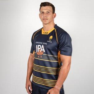 VX-3 Worcester Warriors 2018/19 Home Replica Rugby Shirt
