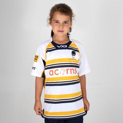 VX-3 Worcester Warriors 2018/19 3rd Kids Replica Rugby Shirt