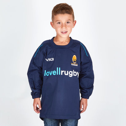VX-3 Worcester Warriors 2018/19 Kids Pro Rugby Contact Top