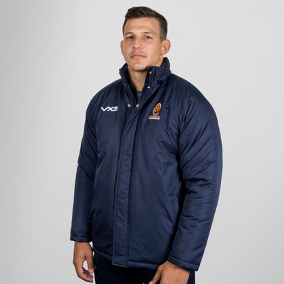 VX-3 Worcester Warriors 2018/19 Pro Corporate Rugby Jacket