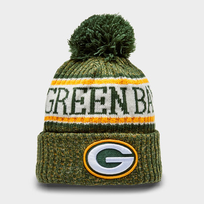 New Era NFL Green Bay Packers Knit Bobble Hat