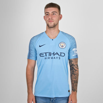 Nike Manchester City 18/19 Home Players Authentic S/S Football Shirt
