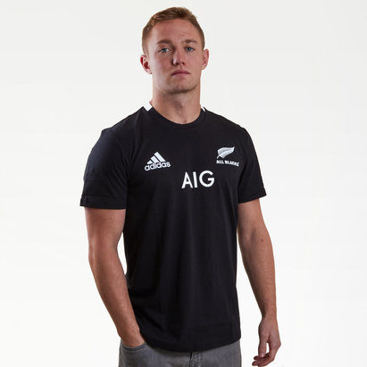 adidas New Zealand All Blacks 2019/20 Home S/S T-Shirt
