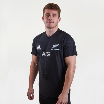 New Zealand All Blacks 2019/20 Players Performance T-Shirt