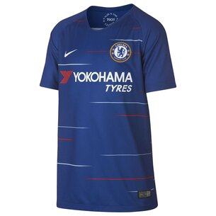 Nike Chelsea FC 2018 19 Home Juniors Jersey