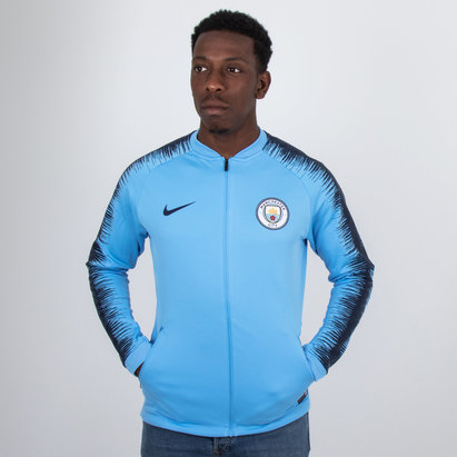 Manchester City 18/19 Anthem Football Jacket