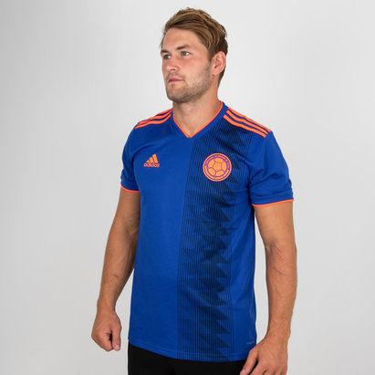 adidas Colombia 2018 Away S/S Replica Football Shirt