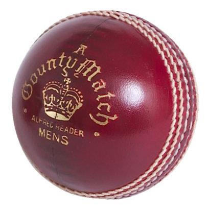 County Match A Cricket Ball