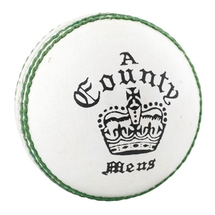 County Crown Coloured Cricket Ball
