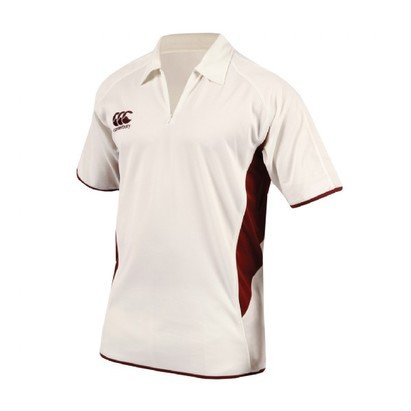 Canterbury Short Sleeve Cricket Shirt Mens