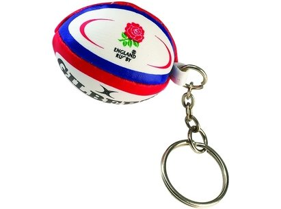 Gilbert International Rugby Ball Keyring