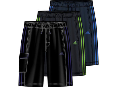 adidas 3 Stripes Junior Classic Water Short