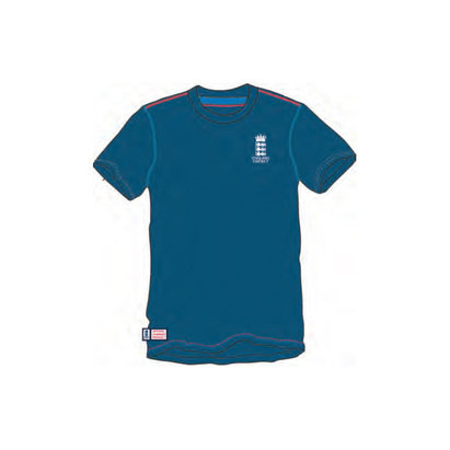 England Cricket Classic Small Logo T-Shirt