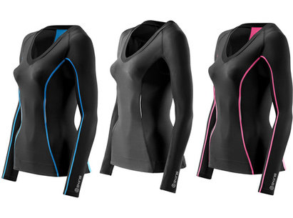 Skins A200 Compression Long Sleeved Top - Womens