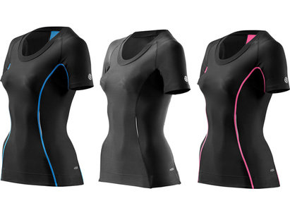 Skins A200 Compression Short Sleeved Top - Womens