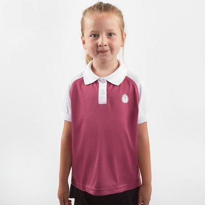 HeartNetball Girls Penelope Polo Shirt