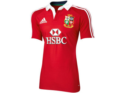 adidas British and Irish Lions 2013 Authentic Replica Rugby Jersey