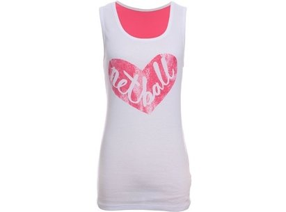 HeartNetball Ladies Heart Singlet