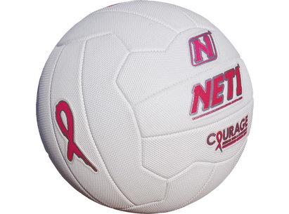 Pink Ribbon Courage Netball