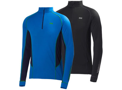 Helly Hansen DRY Mens Charger 1/2 Zip Baselayer Top