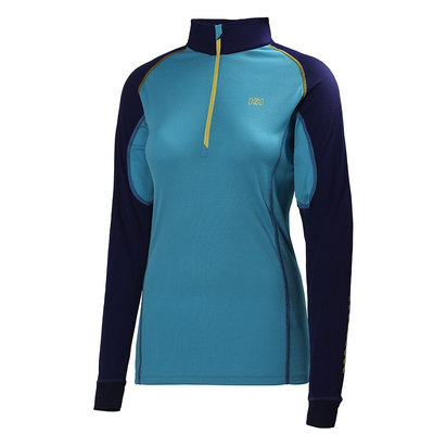 Helly Hansen DRY Womens Charger 1/2 Zip Baselayer Top