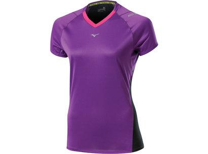 Mizuno AW13 Womens Drylite Premium Short Sleeve T-Shirt