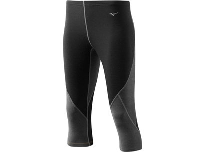 Mizuno Womens Breath Thermo Virtual Body 3/4 Tight