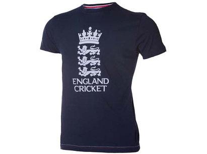 England Cricket Supporters SWANN Large Logo Junior T-Shirt