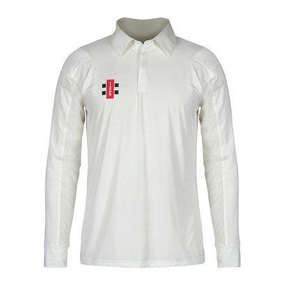 Gray-Nicolls Gray Nicolls Velocity Long Sleeve Cricket Shirt - Senior