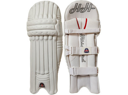 Hits Hard 2014 White Cricket Batting Pads