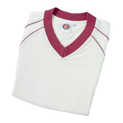 Hunts County Concept Fleece Junior Cricket Jumper