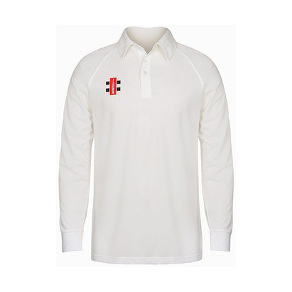Matrix Long Sleeve Cricket Shirt - Senior