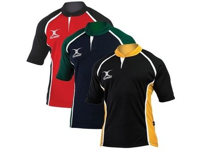 Gilbert Xact II 2 Tone Rugby Shirt - Senior