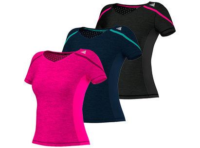 adidas AW14 Womens Adizero Boston Running T-Shirt