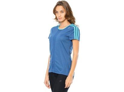 adidas AW14 Womens Response Running Short Sleeve T-Shirt