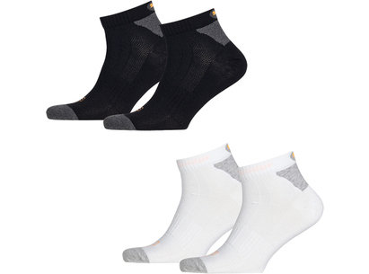 Puma Cell Performance Unisex Lightweight Quarter Socks - 2 Pack