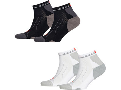 Puma Cell Performance Running Midweight Quarter Socks