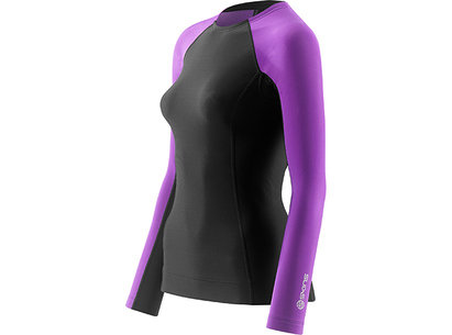 Skins A200 THERMAL Compression Long Sleeve Crew Neck Top - Womens