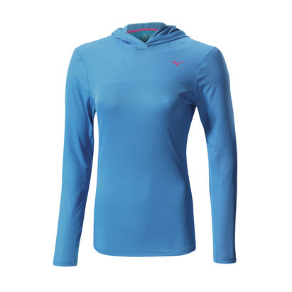 Mizuno AW14 Womens Breath Thermo Hoody Running Top